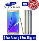 Unlocked AT&T Samsung Galaxy Note 5 N920V/P Note 4/S5 4G GSM 16-32G LTE Nice B20