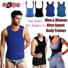 Neoprene Waist Trainer Vest Fat Burner Women Men Weight Loss Both Sides Shaper