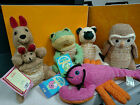 BATH & BODY WORKS SCRUBBY BUDDIES FROM THE 90'S. BRAND NEW WITH TAGS & BIRTHDATE