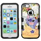 Disney Lilo & Stitch #D Hybrid Hard Armor Case for iPhone 5s/SE/6/6s/7/Plus