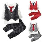 Boys Gentleman T-shirt+Pants Kids Casual Party Costume Children Outfits Set