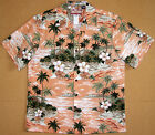 Lost Island Men's vintage RJC aloha shirt made in Hawaii