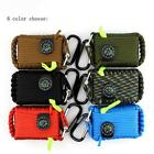 Cool Outdoor Paracord Grenade Survival Kit 29 Tools EDC Gear for Camping Fishing