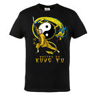 T-SHIRT MMA MASTER OF KUNG FU FOR MMA TRAINING GYM 100% COTTON BLACK CASUAL