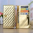 """HANDBAG CLUTCH PURSE WALLET CREDIT CARD CASE COVER for PHILIPS (4.0""""-5.7"""" )"""