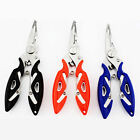 Multifunction Curve Nose Fishing Pliers Scissor Braid Line Cutter Hook Remover