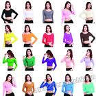 New Modal Cotton Tight T Shirt Islamic Women's Long Sleeve Tops Blouse