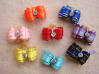 NEW Dog bows pet Grooming hair gift Pet charms handmade Accessories #B4