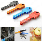 Key Shape Knife Portable Camping Outdoor Survival Pocket Folding Kinfe CA