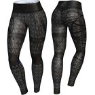Anarchy Apparel Compression Leggings, Gomorra, Aerobic Hosen Pants Compression
