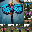 Fabric Butterfly Wings Fairy Ladies Nymph Pixie Costume Accessory Fancy Dress AU
