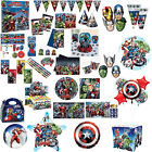 Marvel's AVENGERS POWER Children's Party Supplies Decorations Tableware Listing