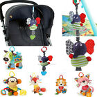 Kids Pram Animal Handbell Stroller Bell Handbell Developmental Baby Plush Toys