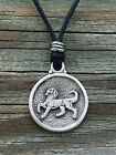 Heraldic Dog (Talbot) Pewter Pendant -Medieval/Heraldry/Handcrafted #0669