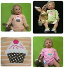 New/NWT~Carters LS bodysuit Spring Tulip flower~ Strawberry +cupcake pink green