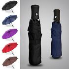 Men Women Travel Golf Umbrella Automatic Compact Folding Windproof Anti-uv Rain