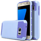 For Samsung Galaxy S7/S7 Edge Case Shockproof Hybrid Rubber Protective TPU Cover