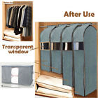 Storage Bag Charcoal Bamboo Organizer Box Clothing Quilt Suit Garment Coat Cover