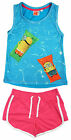 Girls Minions Despicable Me Vest Top & Shorts Pjs Shorty Pyjamas 7 to 16 Years