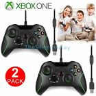 1/2 Wired Game Controller Joystick Joypad for Microsoft XBox One PC Windows New