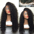 Africa Wave Curly Full Wigs Lace Front Wig With Baby Hair For Black Womens