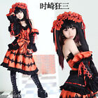 DATE A LIVE Kawasaki Mad Three Cosplay Costume Appointments Major Combat