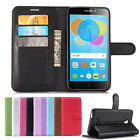 """For 5.5"""" Alcatel Pixi 4 5.5 5012 5012G 5012F PU Leather Wallet Flip Case Cover"""