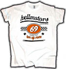 Race 69 Cafe Racer Hot Rod T-Shirt Hellmotors Kult Ace Cafe London Style Custom $20.94 USD on eBay