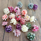 Mini Artificial Flowers Silk flower Head Use For Wedding Decoration11Colors