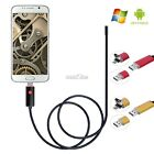 Waterproof 6 LED 5.5mm Lens 2M Android and PC 2IN1 Smart Endoscope S0BZ