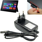 12V 2A Wall Charger Travel Adapter for Microsoft Surface Pro /RT Tablet EU US AU