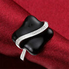 sterling Silver Luxury women Beautiful Fashion Ring Jewely Cute nice party ring