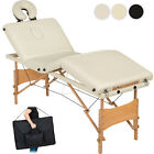 4 Zonen Massageliege Massagetisch Massagebank Therapieliege klappbar mobil