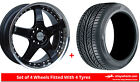 Alloy Wheels & Tyres 17'' Lenso RS5 For Peugeot 4007 07-12