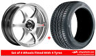 Alloy Wheels & Tyres 17'' Lenso Spec C For Renault Kangoo (4 Stud) [Mk2] 08-16