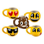 Keramik Kaffee Becher Tasse Kaffeebecher Emoji Emoticon Smily Smiley Rund