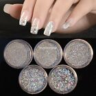 1 Box 3D Glitter Nail Art Decoration 3D Glitter Powder Dust Tips For EN24H