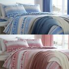 SEAFORD SPOT MODERN SPOTS STRIPES DUVET COVERS EASY CARE QUILT SET