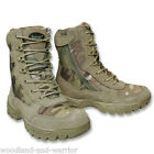 CHAUSSURES RANGERS TACTICAL BOOTS 7 TROUS +1 ZIP CAMOUFLAGE MULTICAM Taille 43