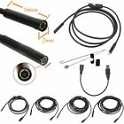 Micro USB Endoscope Borescope Waterproof Inspection Camera for HTC M8 M9 Samsung