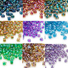 100 Miyuki Glass Triangle Seed Beads 5/0 Inside Color Two Tone Lined Beads $1.79 USD on eBay