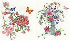 DMC Summer Floral / Butterfly Blossom Cros Stitch Kit BK1444 & BK1445