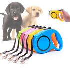Pet Dog Cat Puppy Automatic Retractable Traction Rope Walking Lead Leash ES B