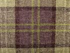 Wild Heather ORKNEY Premium Wool Effect Washable Thick Tartan Upholstery Fabric