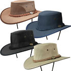 Barmah Canvas Aussie Bush Golf Hat Sun Shade Hat Sizes S- 2XL