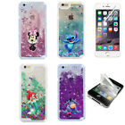 Sparkle Disney Glitter Star Liquid Quicksand Case Cover For iPhone 6 6s 7 8 Plus