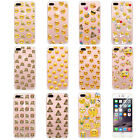 Lovely Emoji Hard Protector Cell Phone Back Case Cover For iPhone 6 6s 7 7 Plus