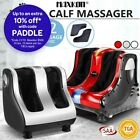 4 Motors Foot Massager Shiatsu Kneading Rolling Electric Calf Leg Ankle Heating