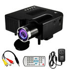 Portable 1080P FHD Mini Projector Multimedia Home Theater Cinema HDMI AV VGA USB
