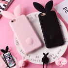 long cute lanyard attractive rabbit ear Case cover skin for iPhone 6 6s 7 7 plus